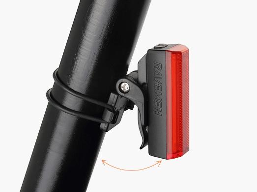 RAVEMEN TR20 rear light angle adjustable
