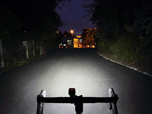 RAVEMEN LR800P bike light flood beam