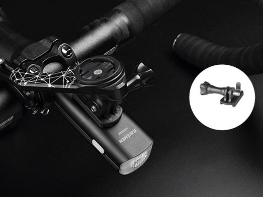 RAVEMEN LR800P bike light upside-down mount