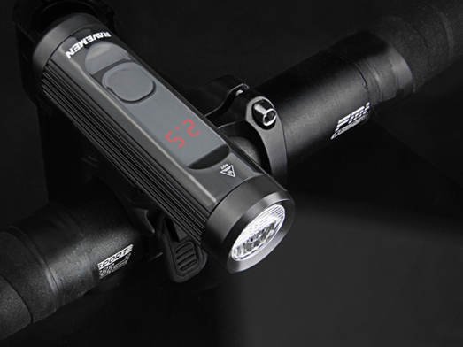RAVEMEN CR900 bike light runtime display