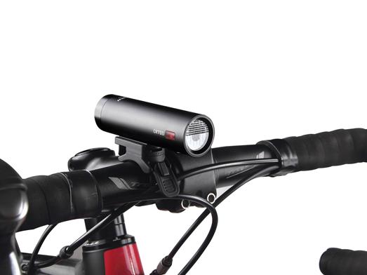 RAVEMEN CR700 bike light integrated design